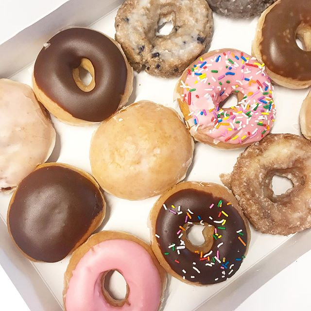 Happy #nationaldonutday! Did you go in to get your free donut yet? Had some donut fun with @krispykreme in our office yesterday so you can bet everyone was on a sugar high. Happy Friday!! #VENTURELIKEME #🍩