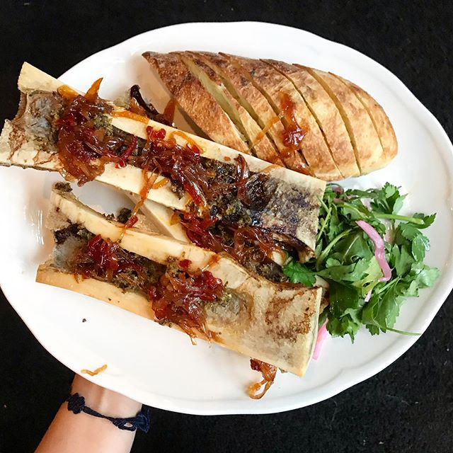 Bone marrow equals happiness. #VENTURELIKEME #bonemarrow #wednesdaymotivation #dinnerideas