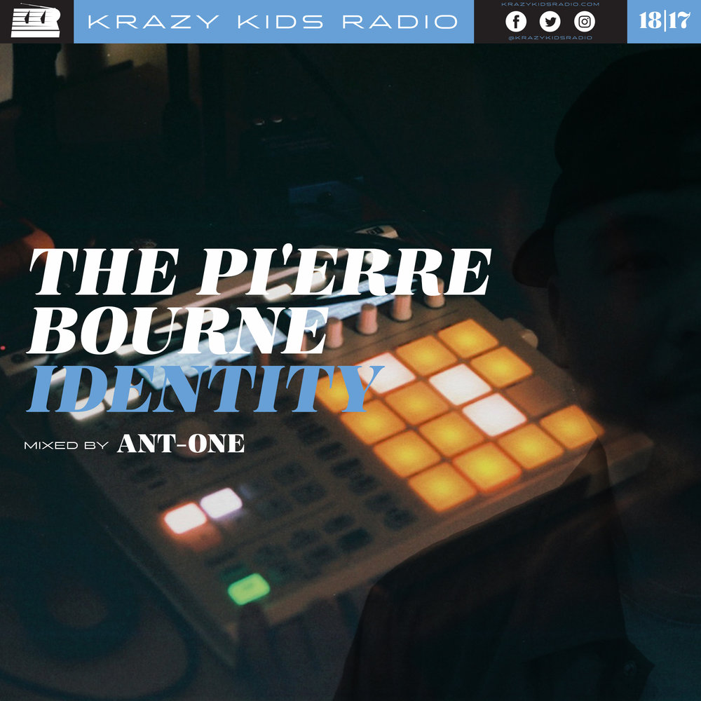 THE PI'ERRE BOURNE IDENTITY KRAZY KIDS RADIO podcast