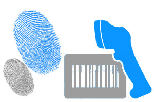Fingerprint Barcode Scanning