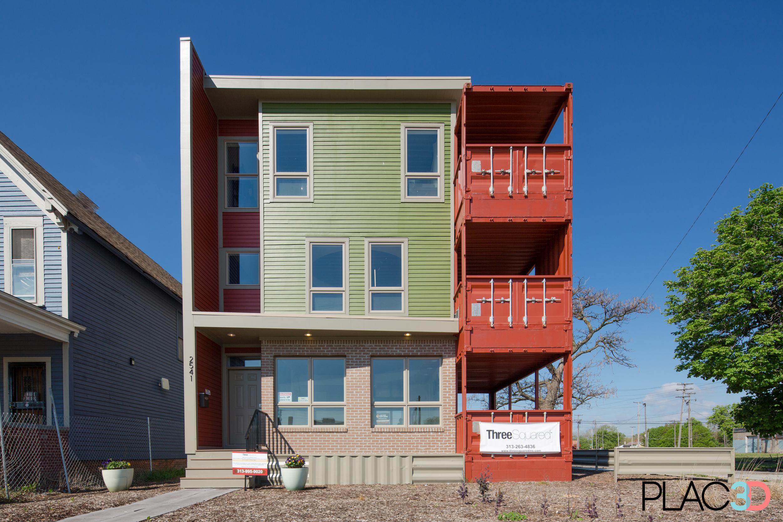 Three Squared Model Center exterior
