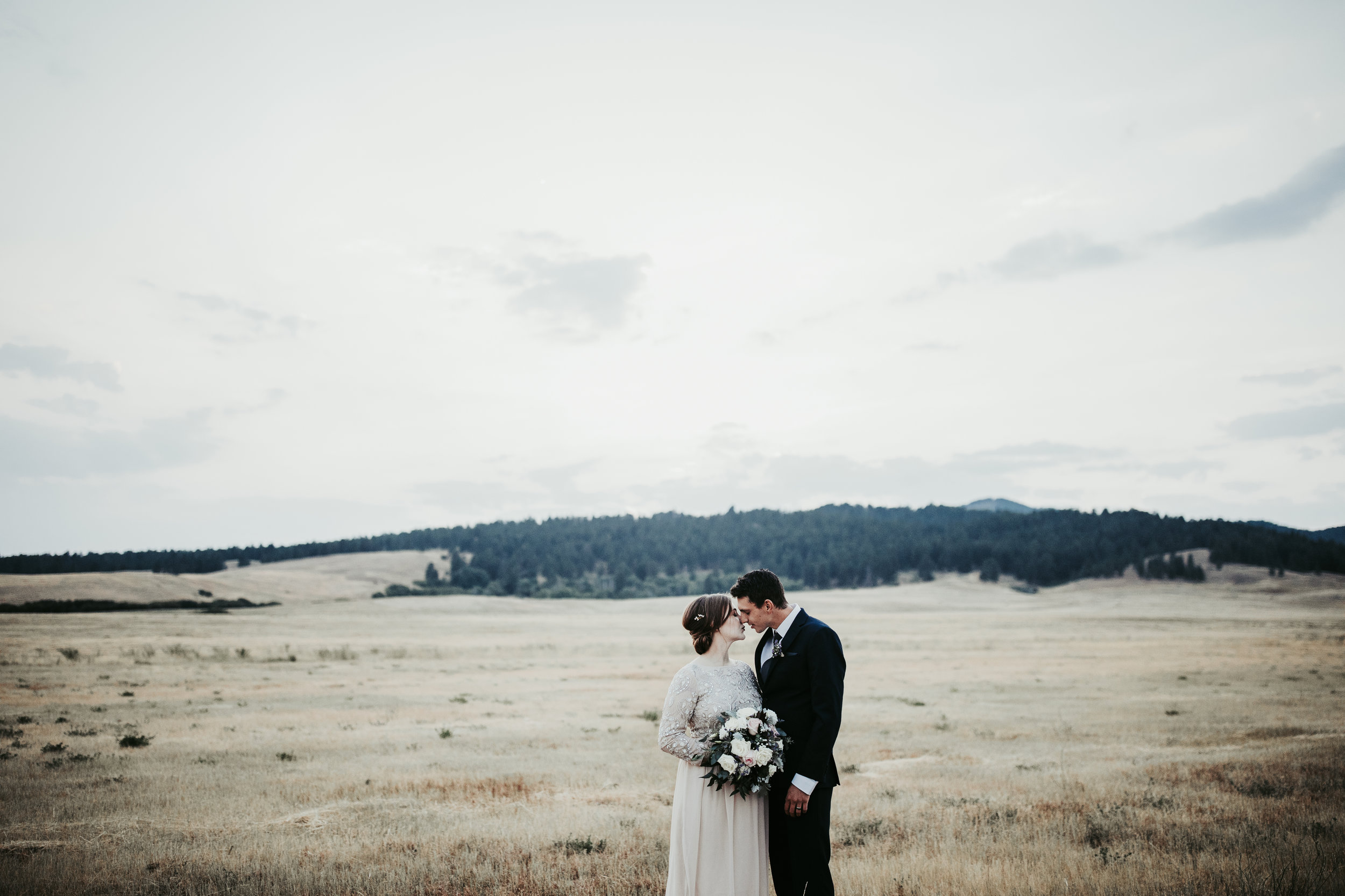THE JOHNSONS - Backyard Ranch Wedding | Lewistown, MT