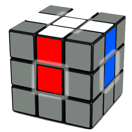 Identifying corners of a Rubix Cube
