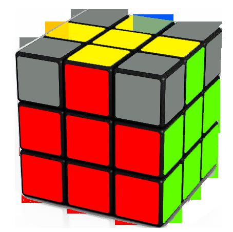 adjacent edgesof top cross correct