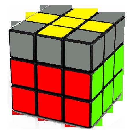 Forming the cross on the top of the Rubik's Cube   F R U Ri Ui Fi