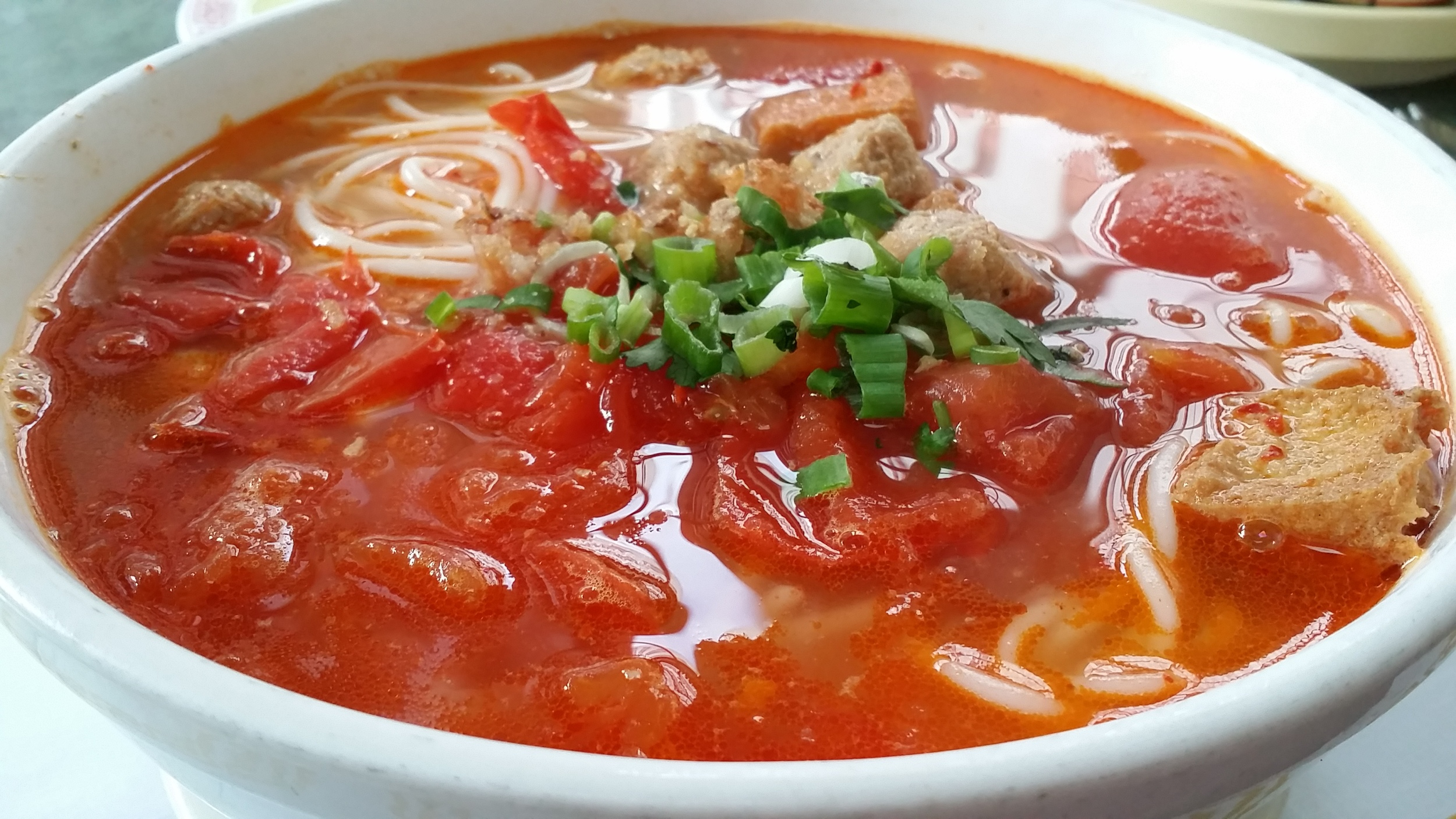 Savory, Sweet, Sour & Spicy Tomato Broth