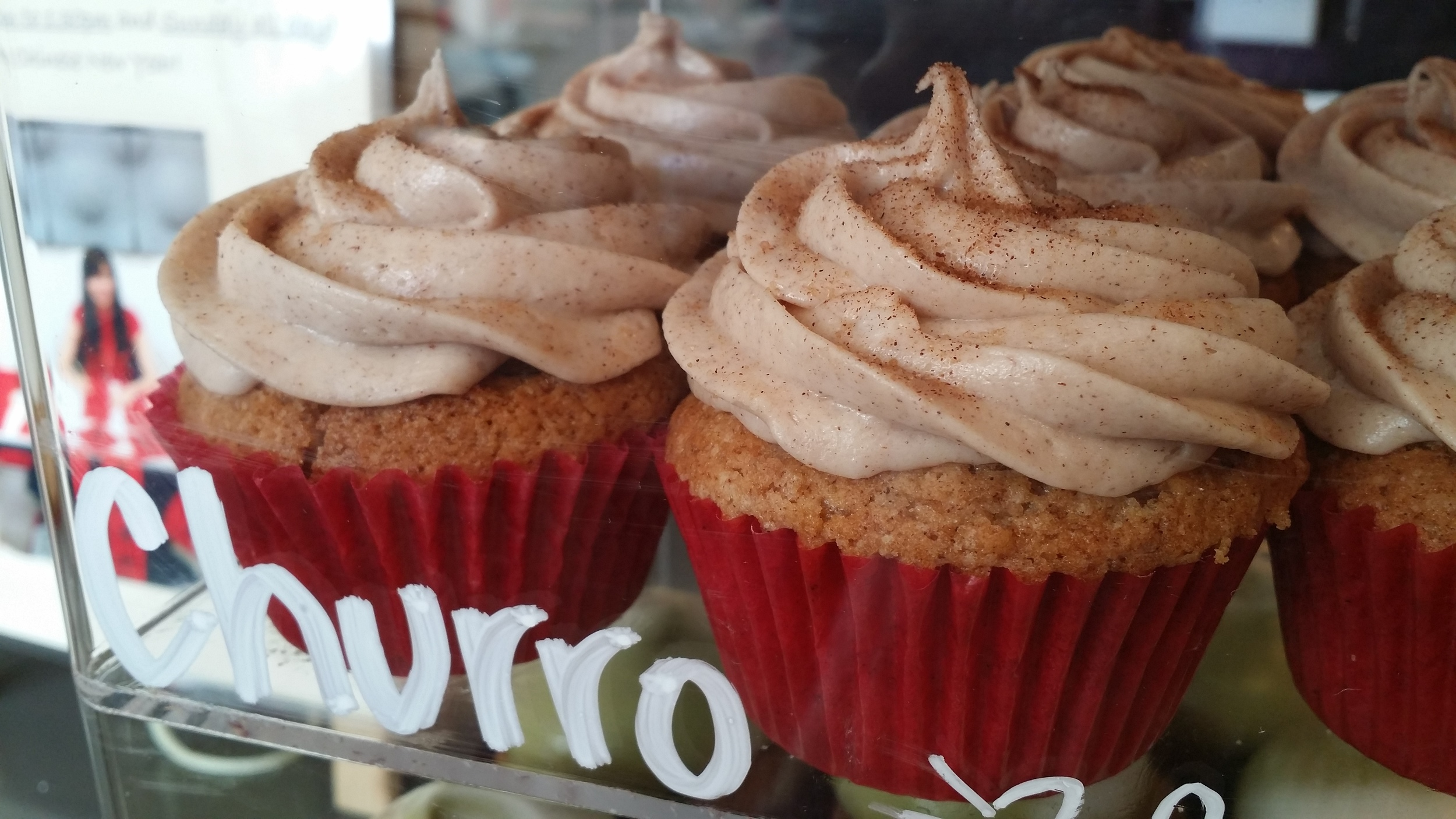 Churro Cupcakes by We The Minis.