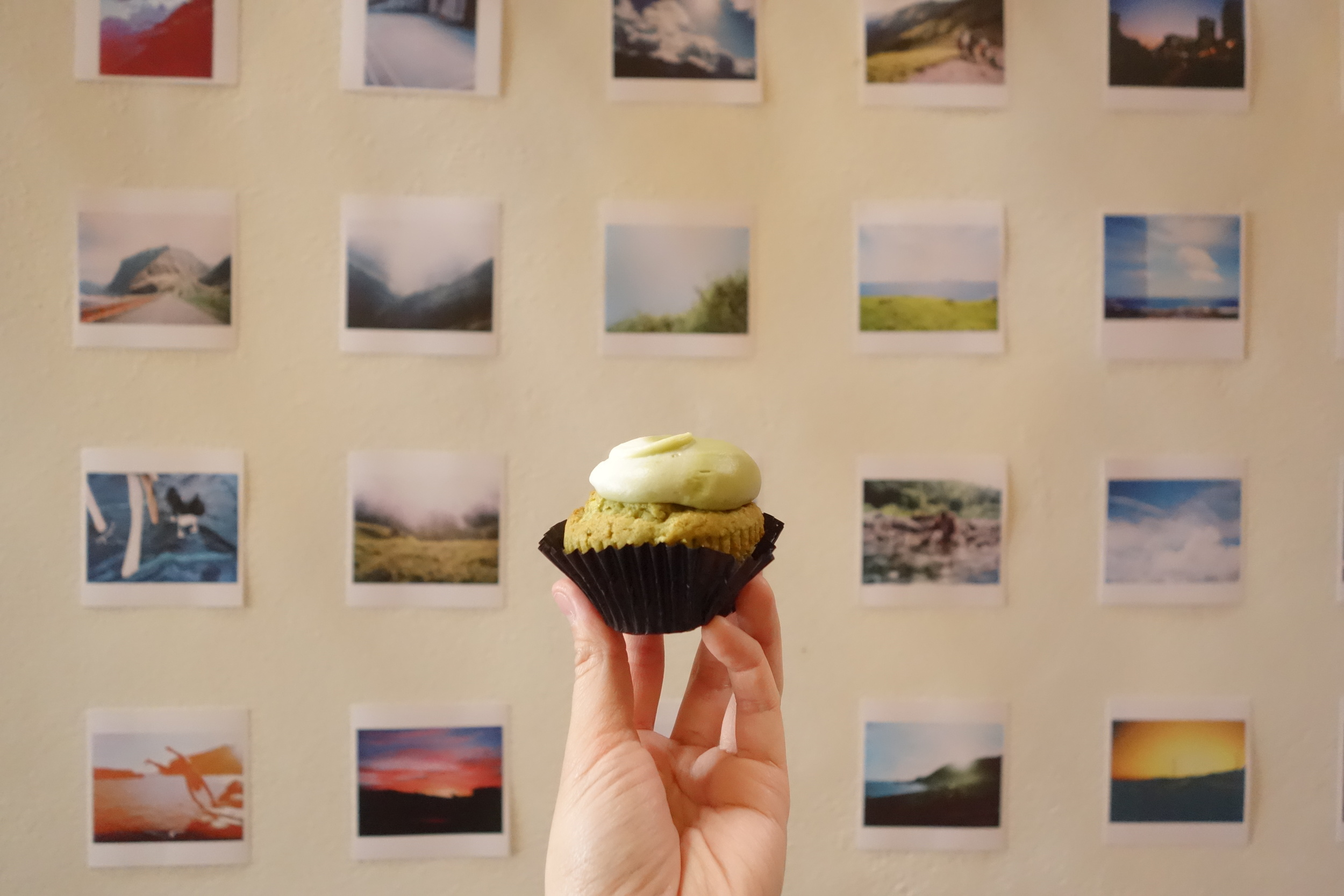 Matcha Green Tea Cupcake by We The Minis.