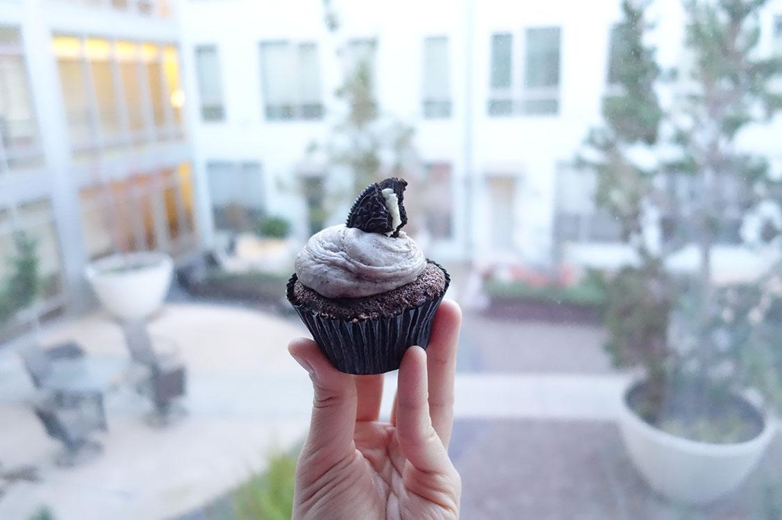 Cookies n' Cream Cupcake