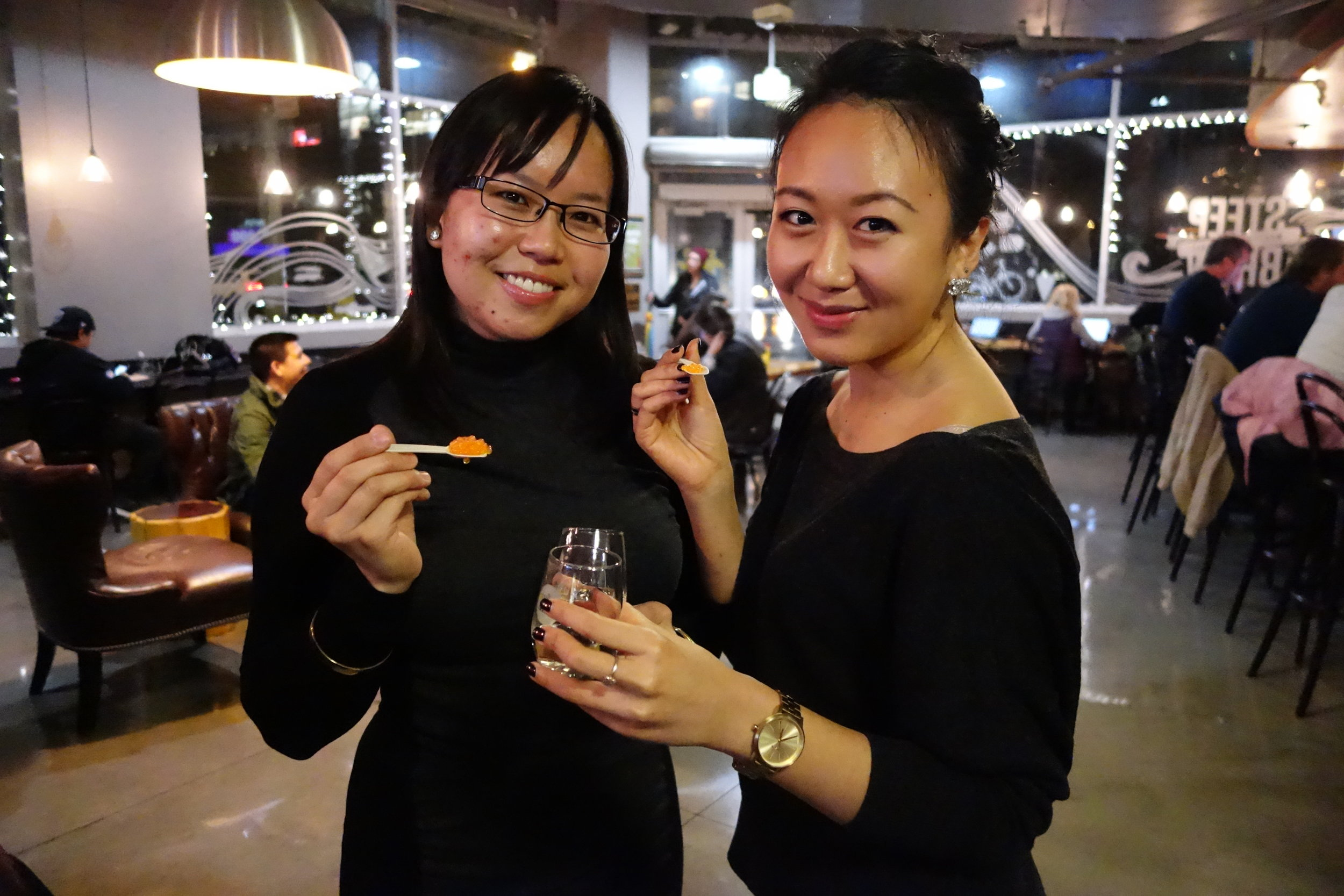 Sandy Leung (Left) & Annie Wang (Right)