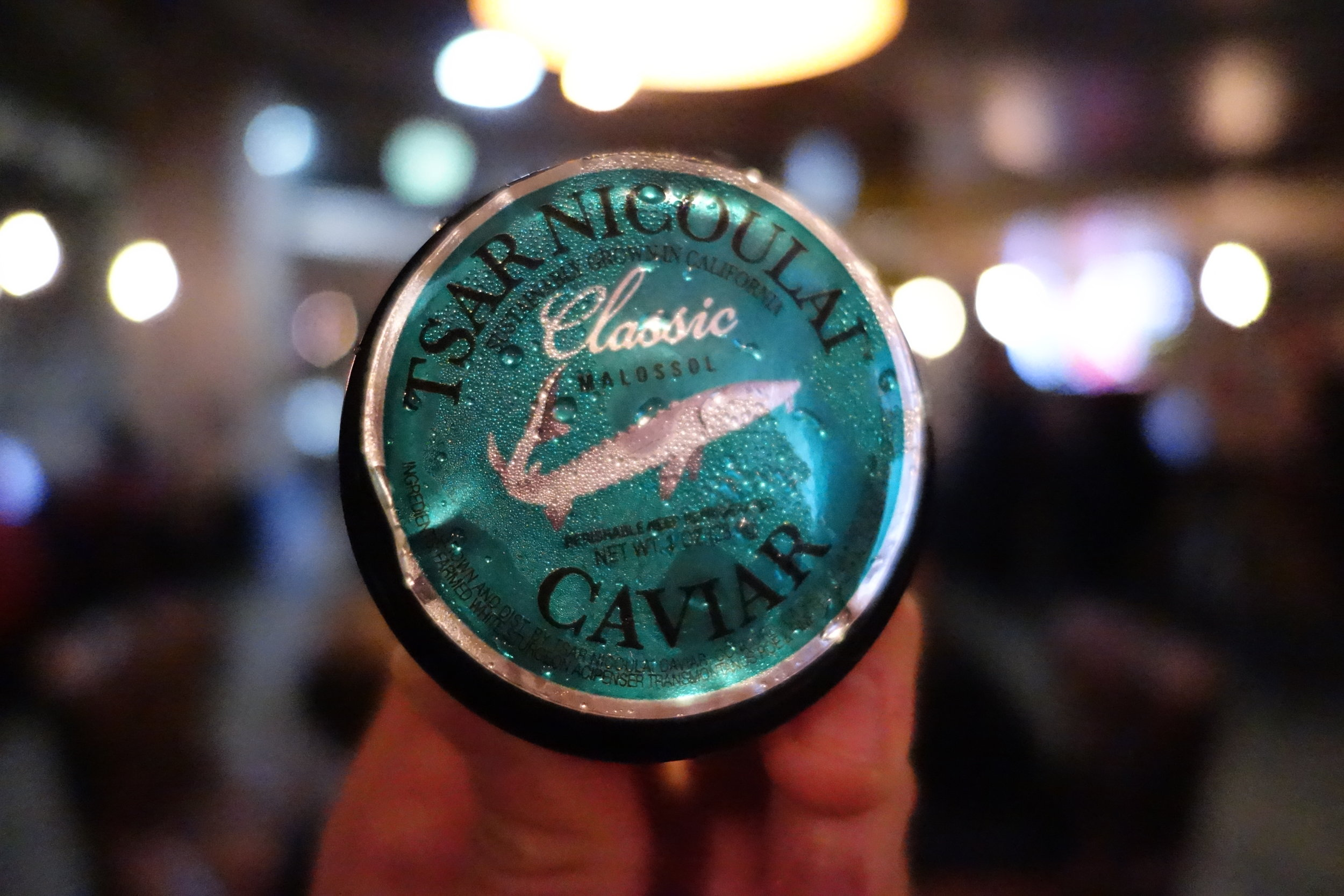 Tsar Nicoulai Classic Sturgeon Caviar