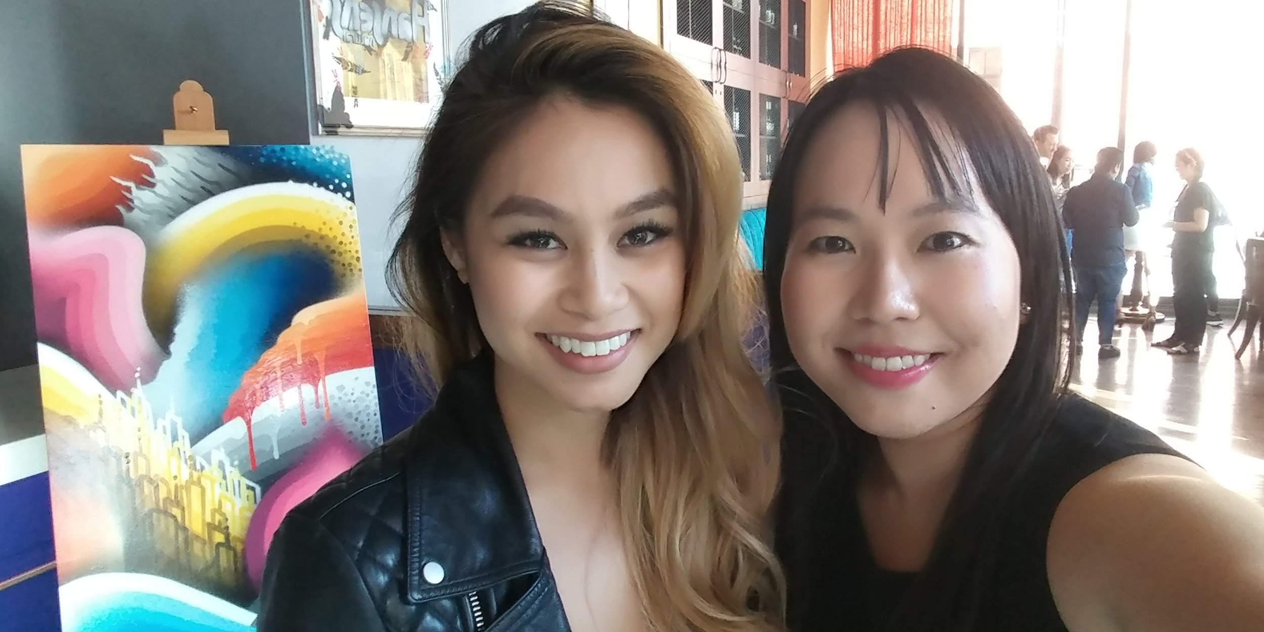 Social Media Influencer CynEats's Cynthia Linh (Left) & SandyByTheBay.com's Sandy Leung (Right).