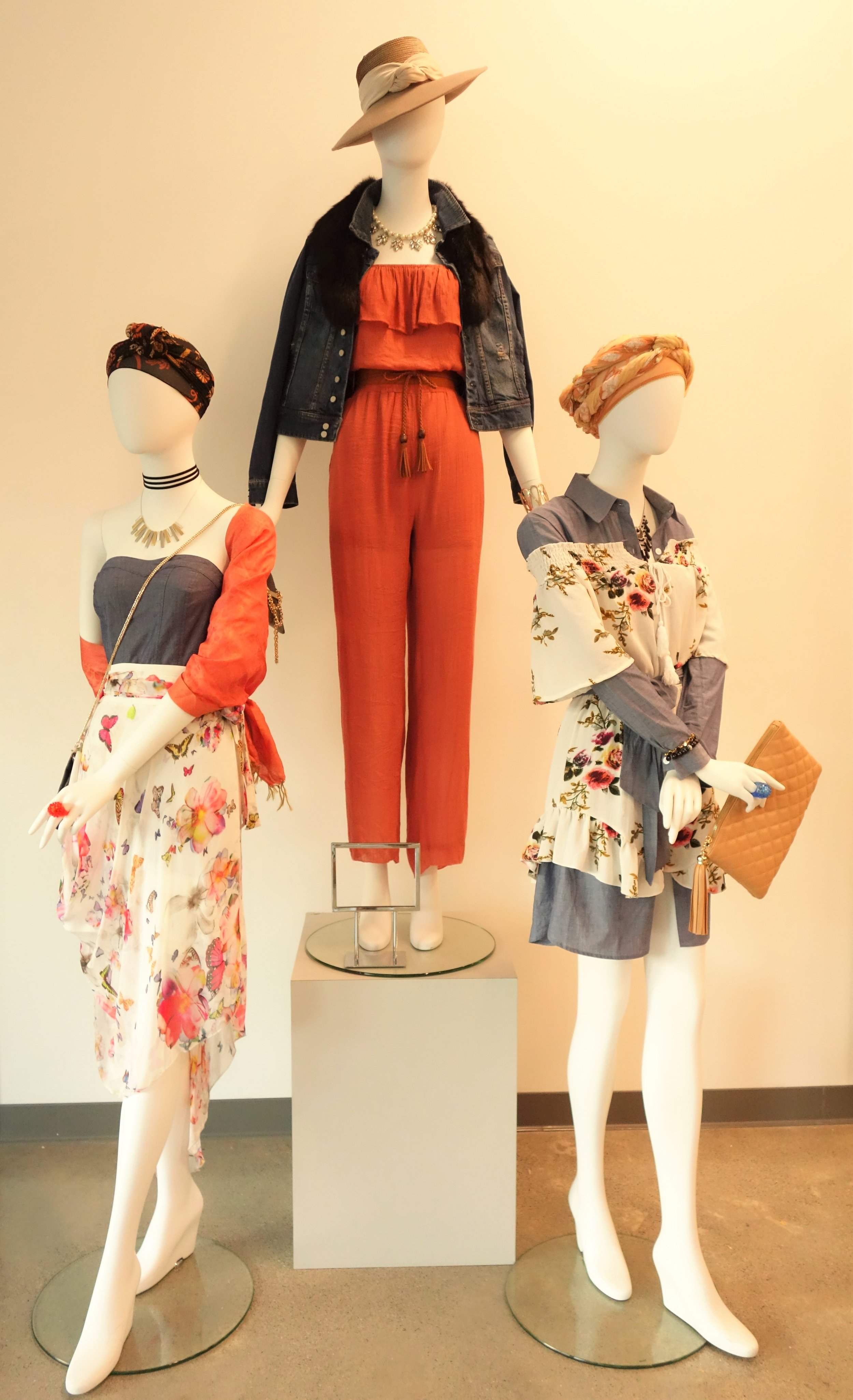 Mannequins at the Godwill San Rafael store