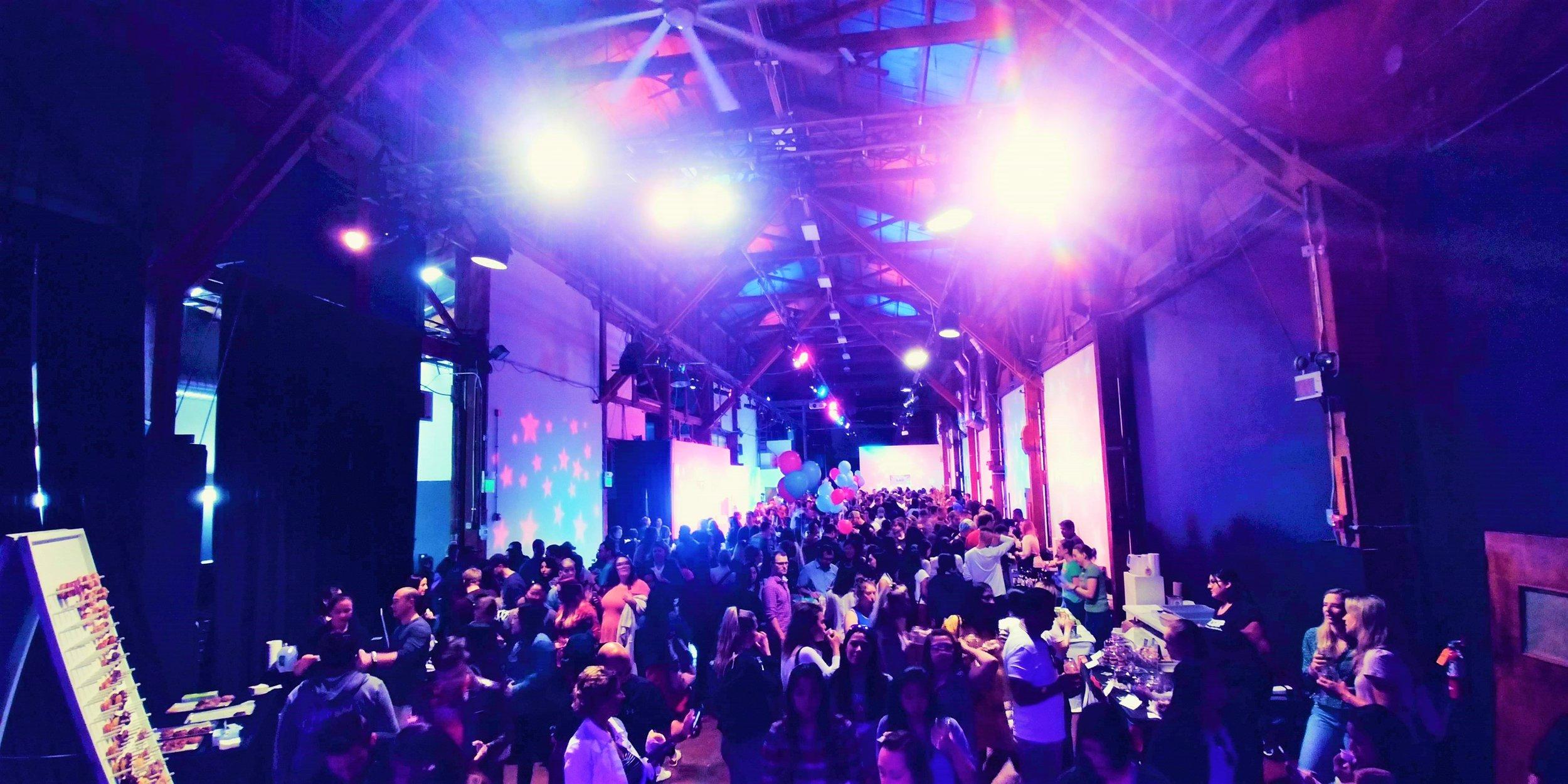 Inside Sweet Spot Fest 2019 at SOMArts Cultural Center. SoMa District, San Francisco, CA
