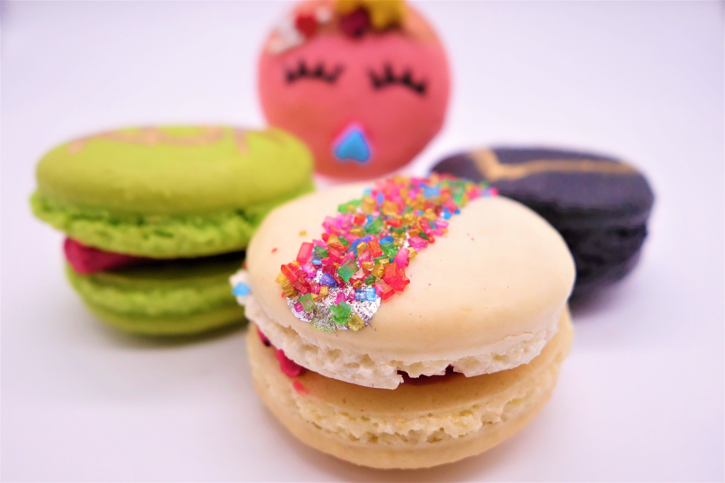Assorted Macarons by Food La La
