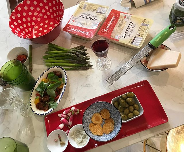 Enjoying an array of French produce home cooked by Peter's mum - there's nothing quite like it! I will miss this ❣️ This trip has been very inspiring for wellbeing, quality family time and eating = quality of life - I'll write about it soon and see if you enjoy, or are inspired from my findings too 🤗  Since having our daughter, my husband and I have discussed at length how we desire to spend our moments and what's important to keep close to our hearts.  Do you have a cultural tradition or family ritual that you have implemented at home?  @suzznnandre #spencetraveldiaries