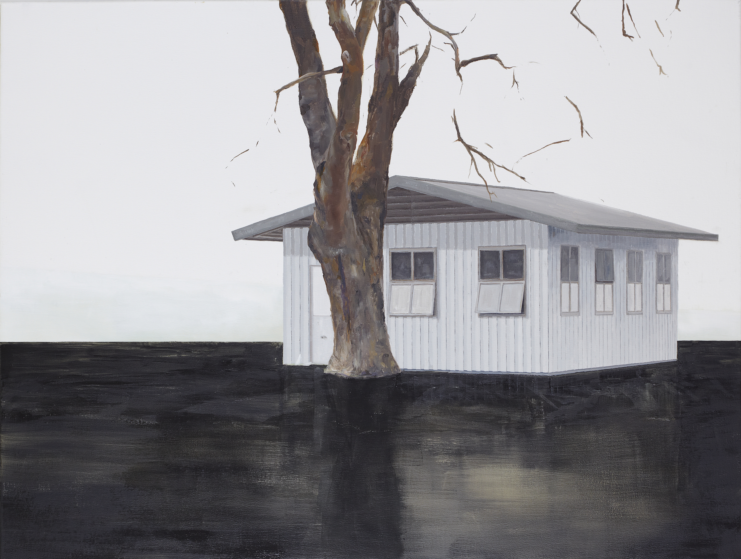 High Water 2012 Oil on Canvas  80 x 105cm