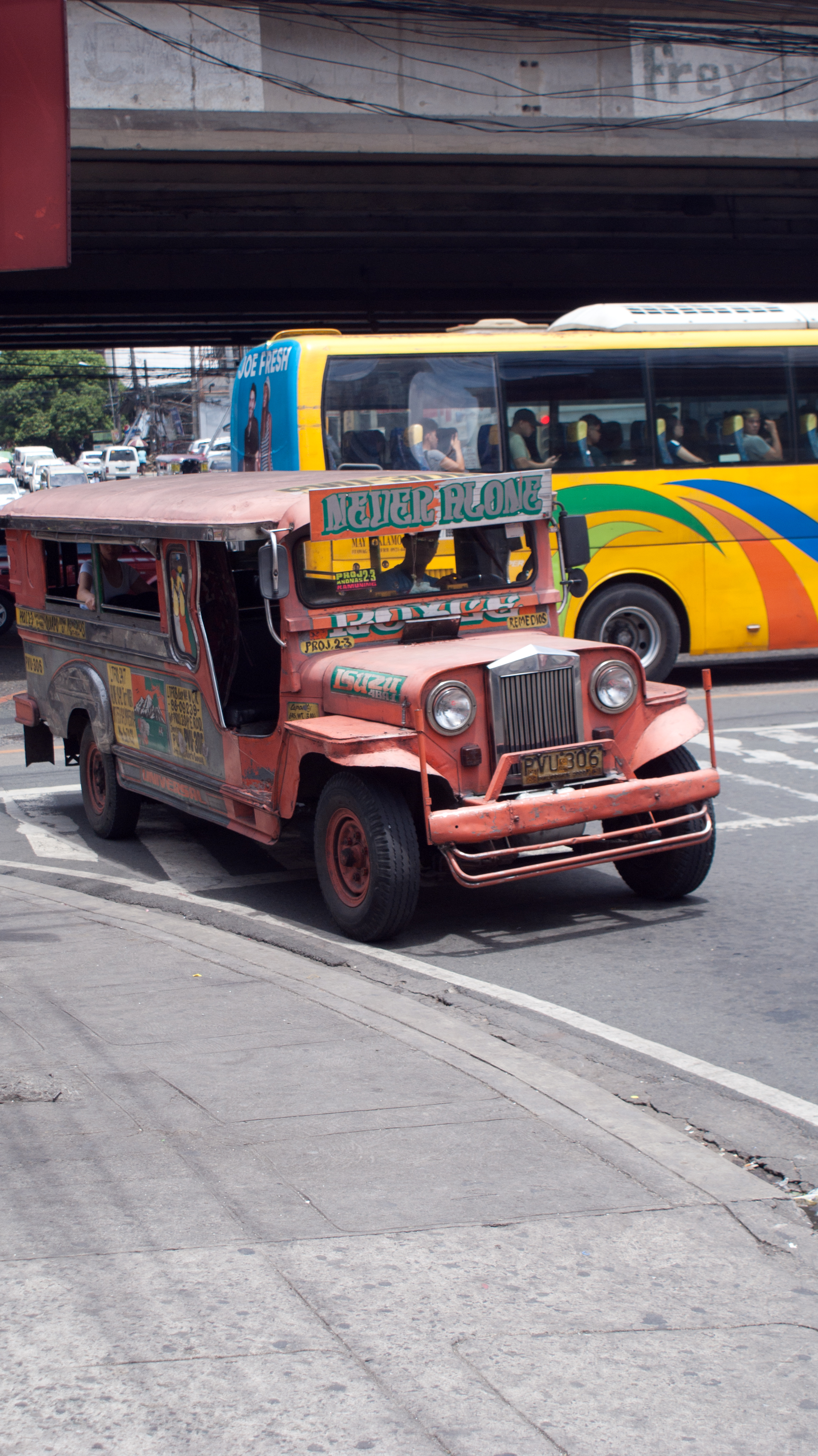 My favourite vehicle in the Philippines, the Jeepney.  I wanted to buy one and ship it home.