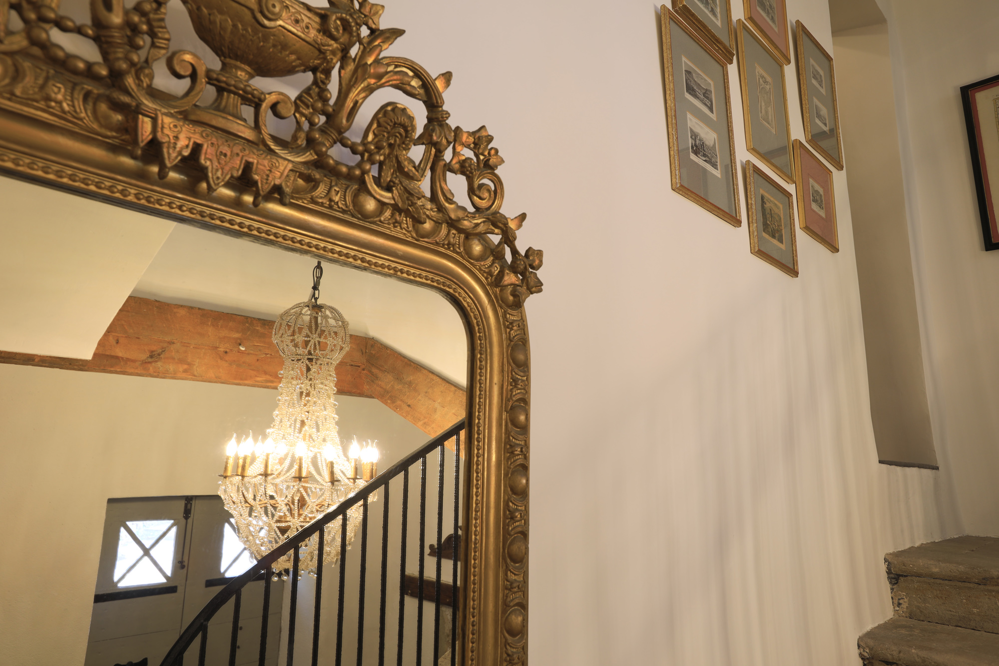 Steps from entrance hall