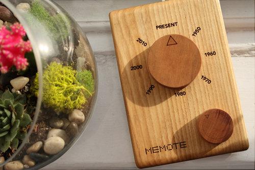 MEMOTE - A remote-controlled time machine.