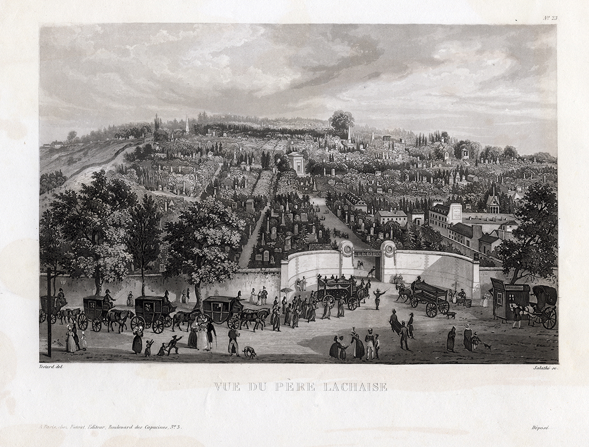 1845 print by Gavard from an earlier print by Courvoisier (see above)