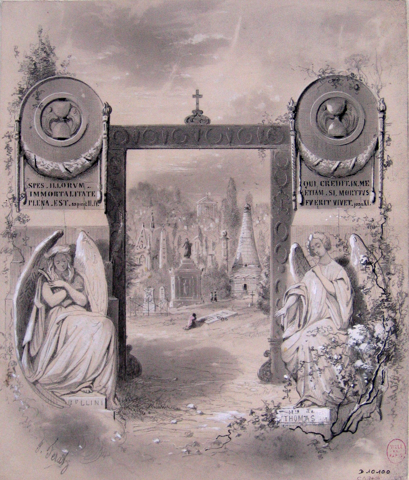 1850-60 fanciful rendition by Ferat