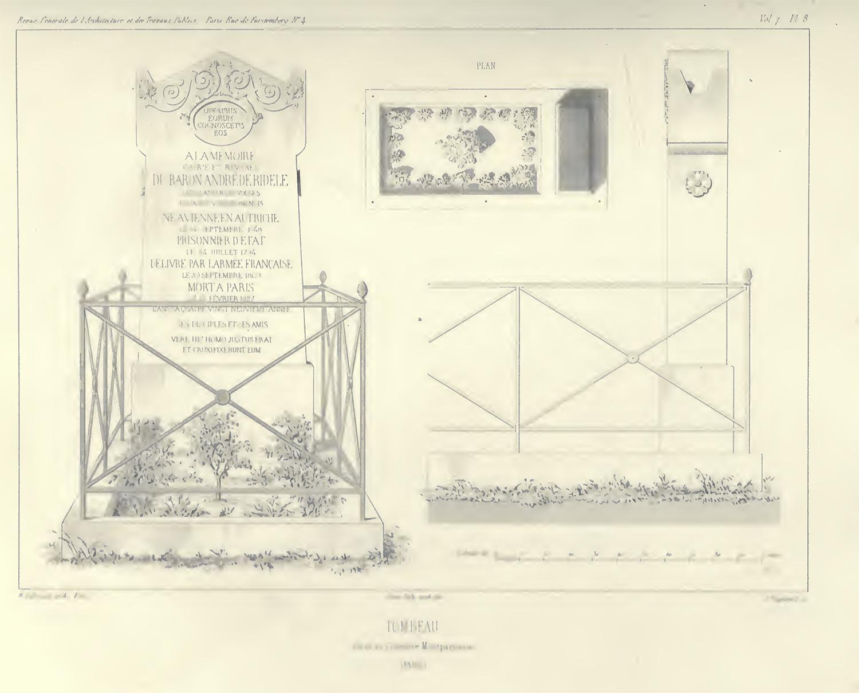 Revue generale de l'architecture et des Travaux publics, VOL. 7 1847 P, 197 plate 8
