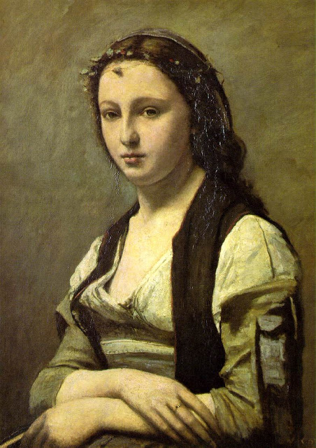 Woman with a pearl , 1868-70, Louvre, Paris