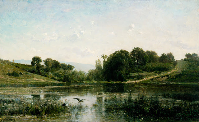 The Ponds of Gylieu , 1853, Cincinnati Art Museum, Ohio, USA