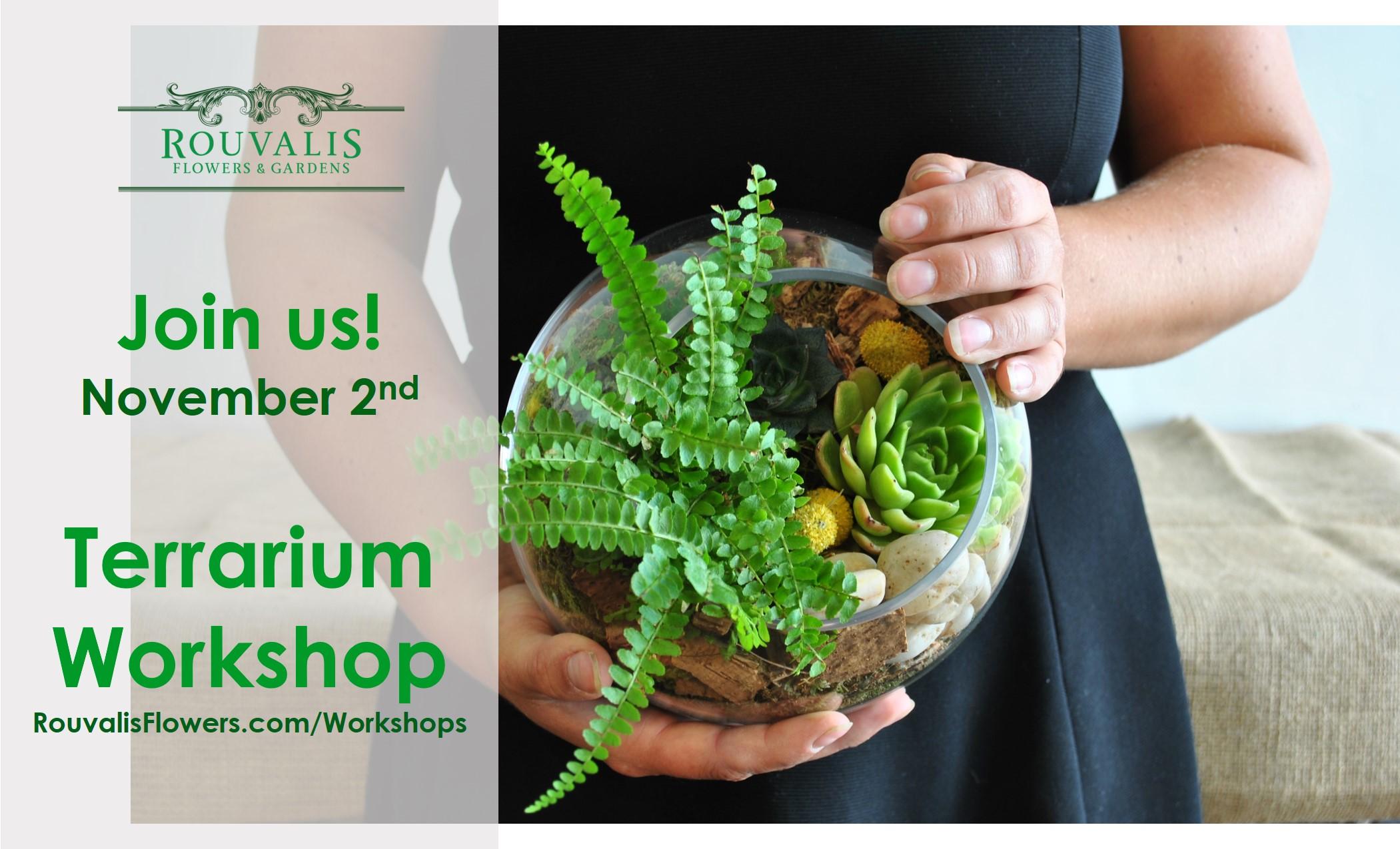 terrarium workshop boston
