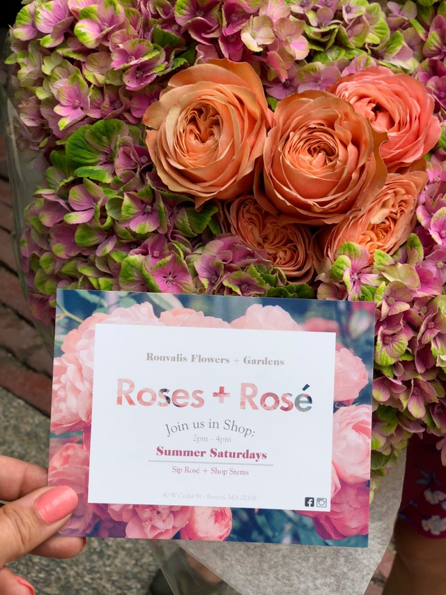 Our Roses and  Rosé kick off was this Saturday!