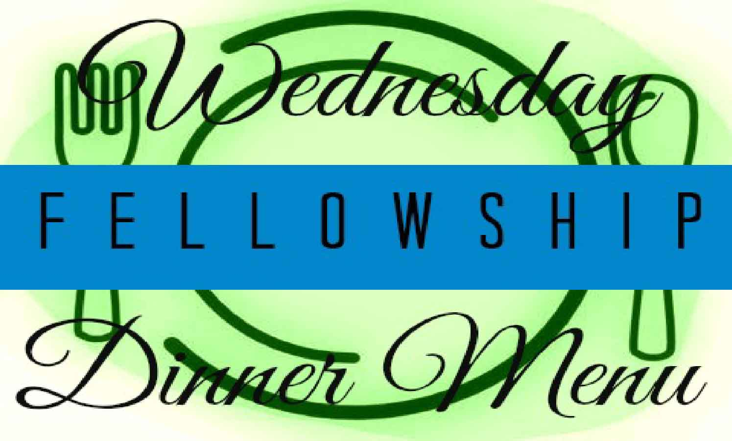 Wednesday Dinner - Community dinner is served from 5:15-5:45 on Wednesdays during the school year in the Fellowship Hall. Free for everyone. Donations accepted. To make reservations, click here.