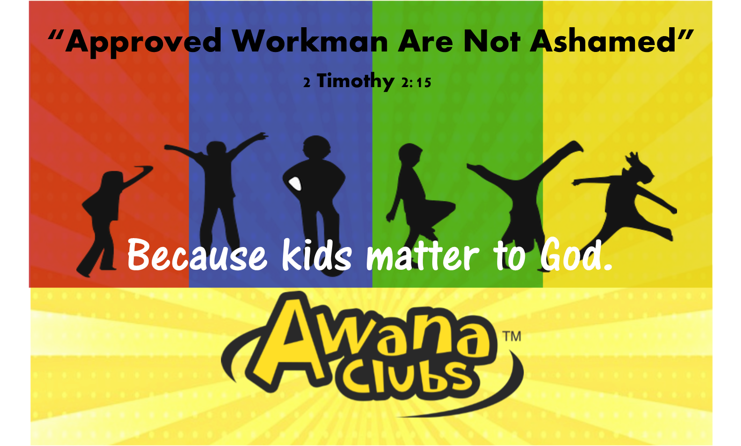AWANA - AWANA meets on Wednesday nights from 6:00–7:45 pm in Room 208. Kids meet in the following age groups: Cubbies (ages 3-5 years); Sparks: (Kindergarten–2nd grade); and Truth & Training (3rd–5th grade).To register your child for AWANA, please click here.