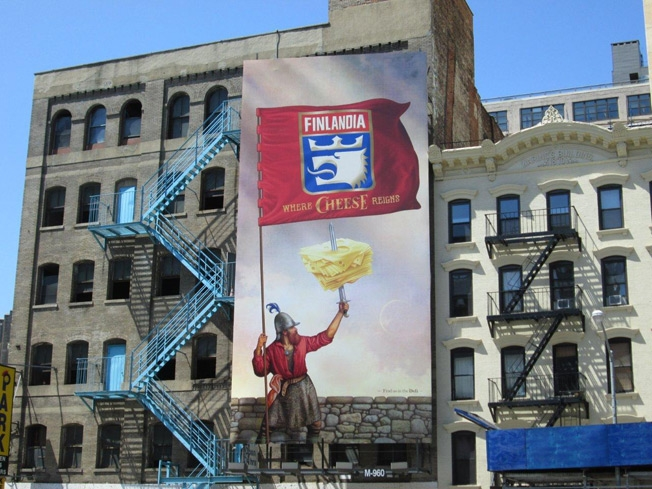 NYC Billboard placement
