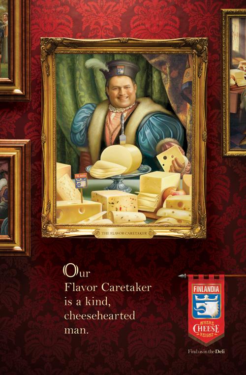 Flavor Caretaker OOH Poster