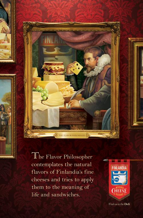 Flavor Philosopher OOH Poster