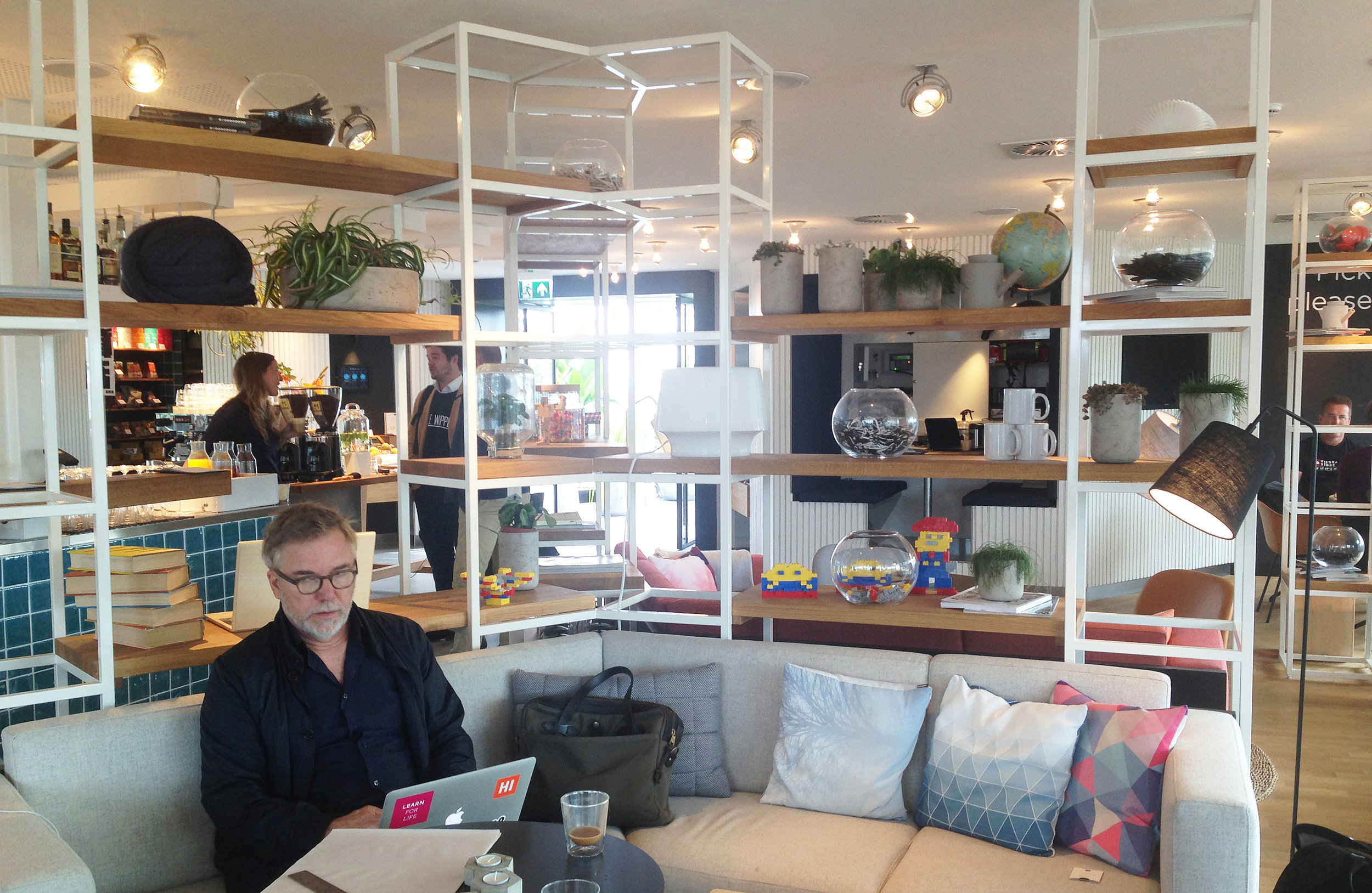 We stayed at ZOKU – a new way of combining working and living. It was awesome.