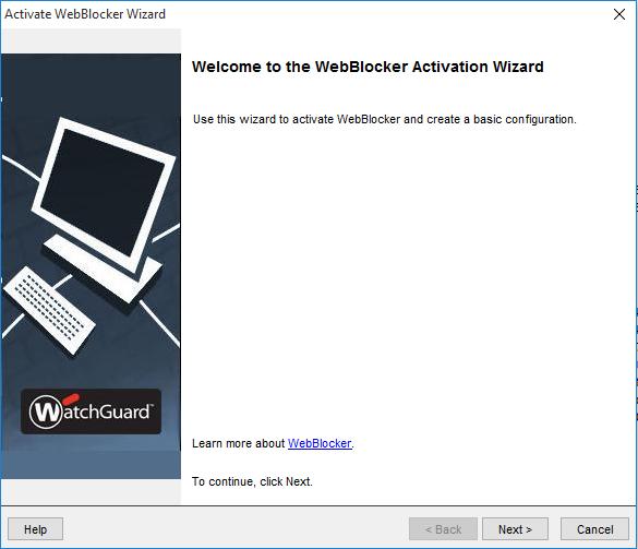 Setting Up WatchGuard WebBlocker