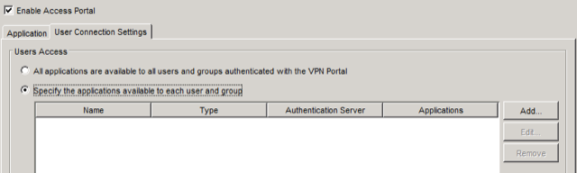 Setting Up WatchGuard Access Portal