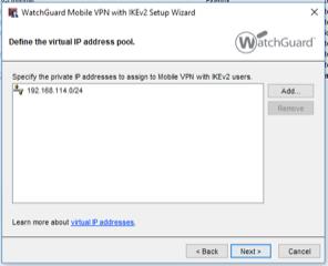 WatchGuard IKEv2 Mobile VPN — JSCM Group