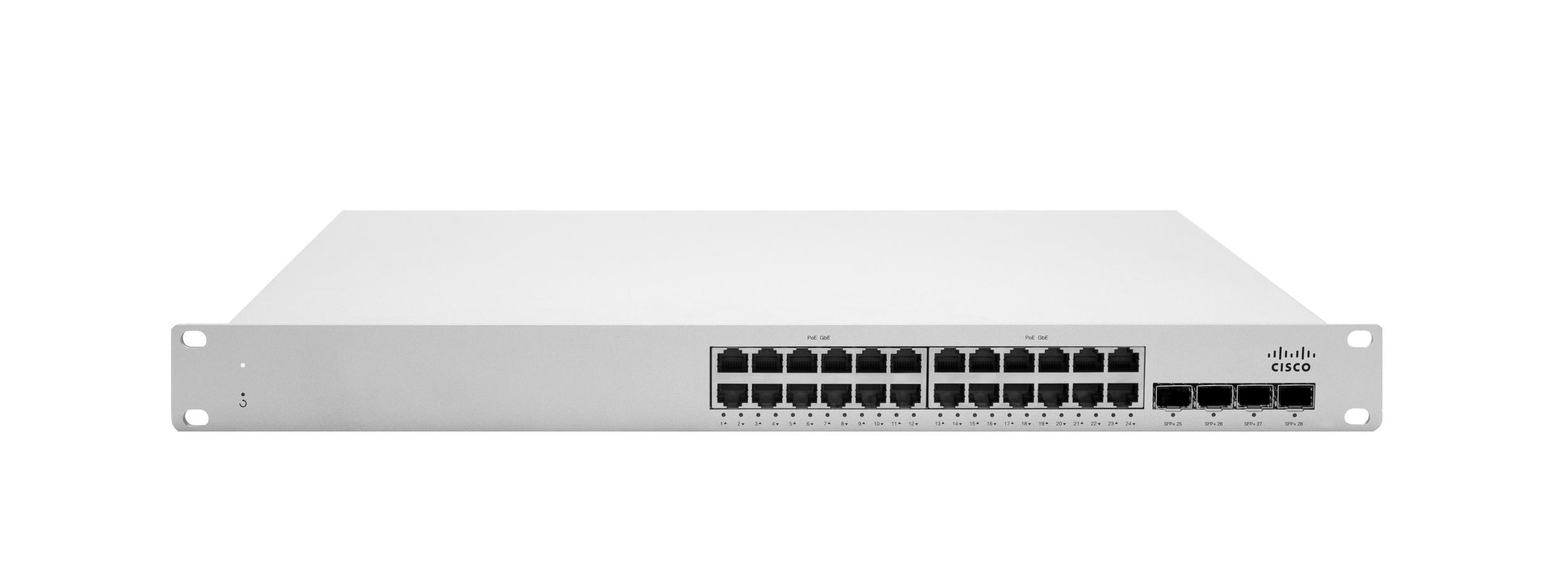 Cisco Meraki Stackable Access Switch S225-24