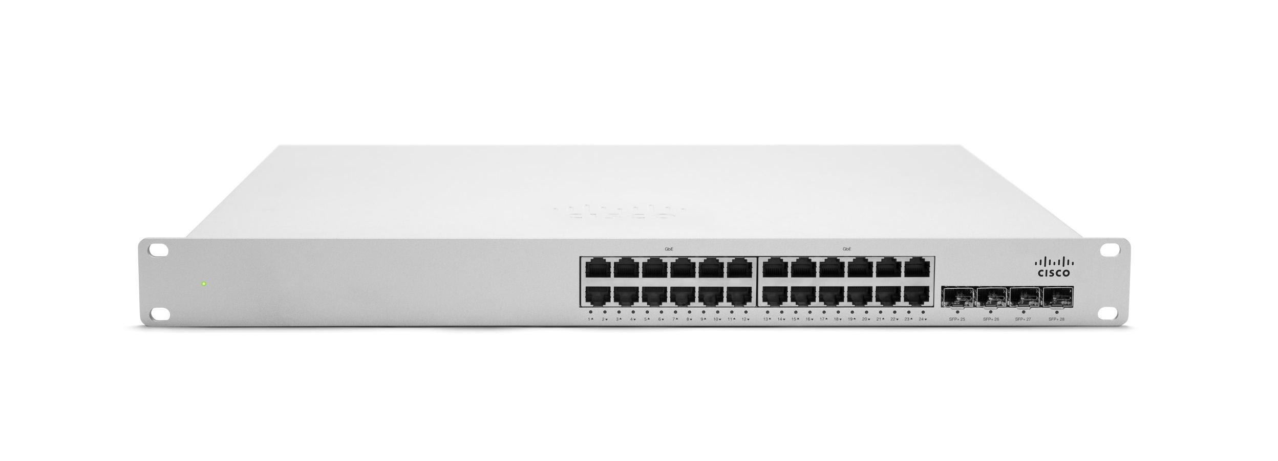 Cisco Meraki Stackable Access Switch MS350-24