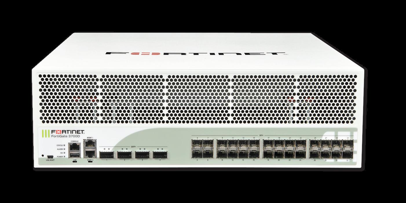Fortinet FortiGate 3700D, 3700D-NEBS, 3700D-DC and 3700D-DC-NEBS
