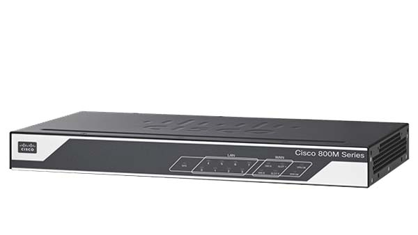 Cisco 800M Series Integrated Services Router