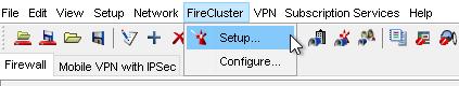 WatchGuard FireCluster Configuration Wizard