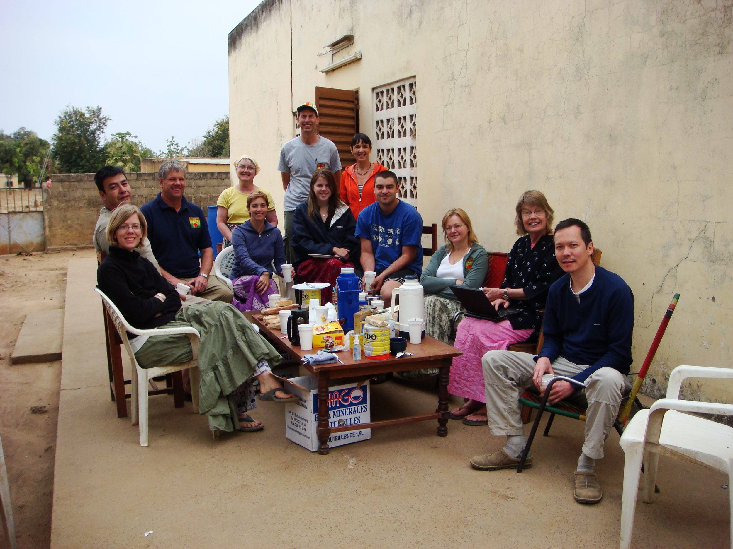 The 2009 Volunteer team