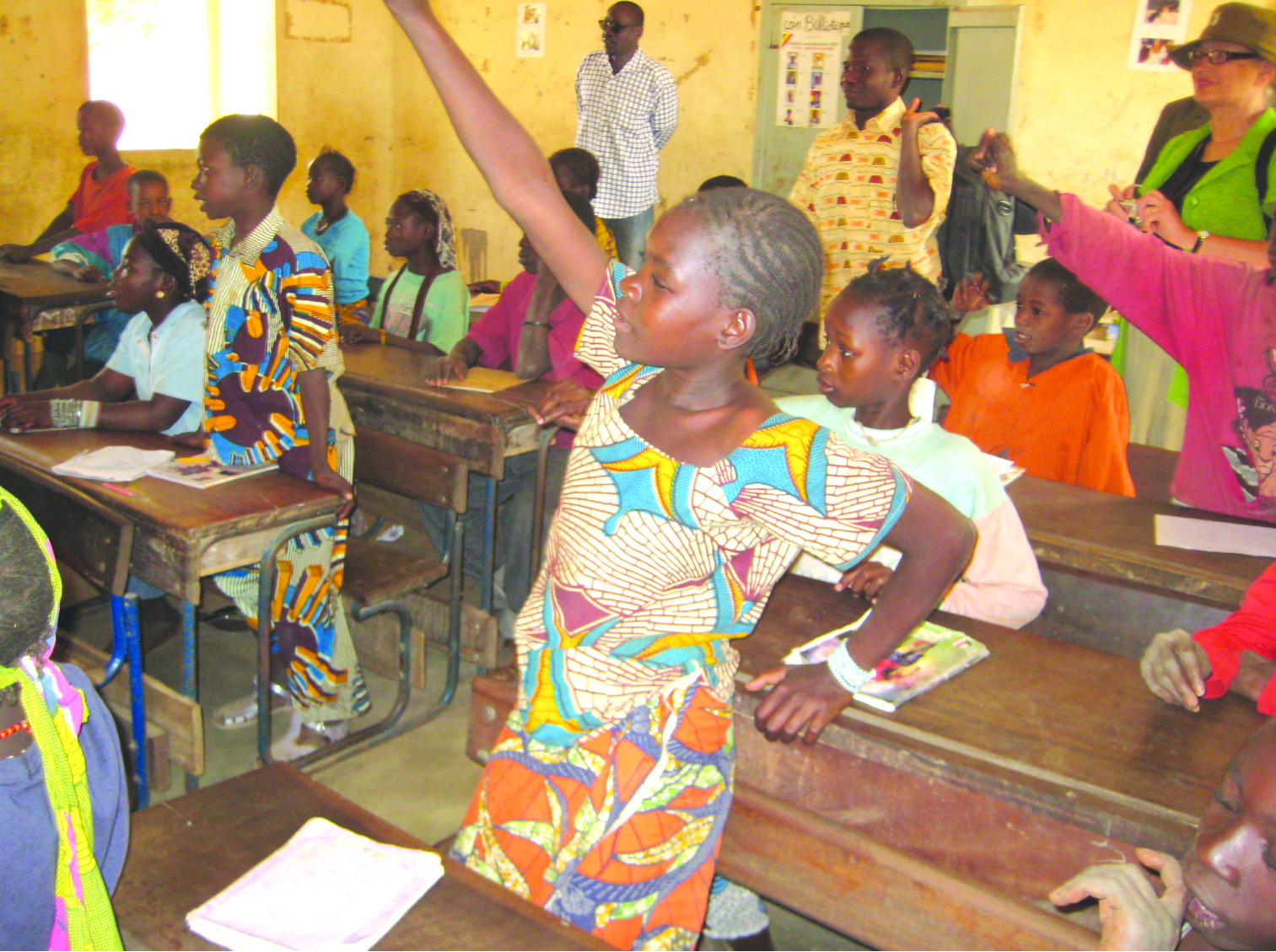 MFM supports girls in school