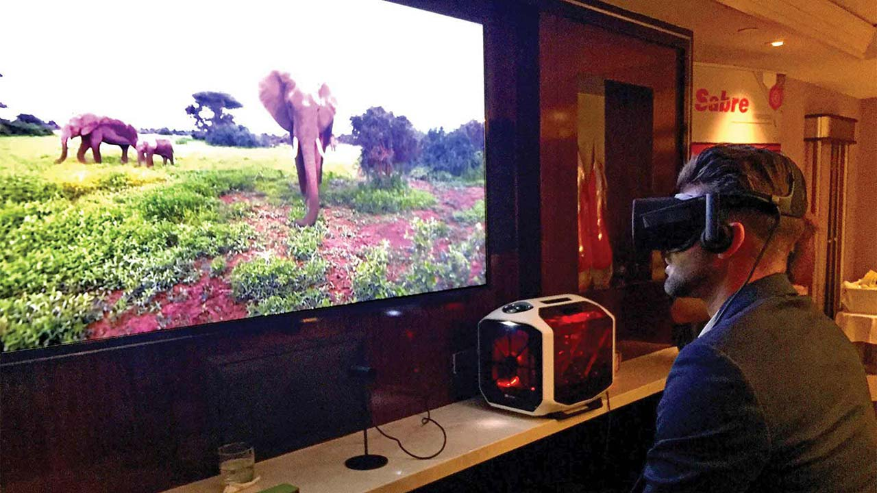 Virtuoso demonstrate travel videos on Oculus Rift