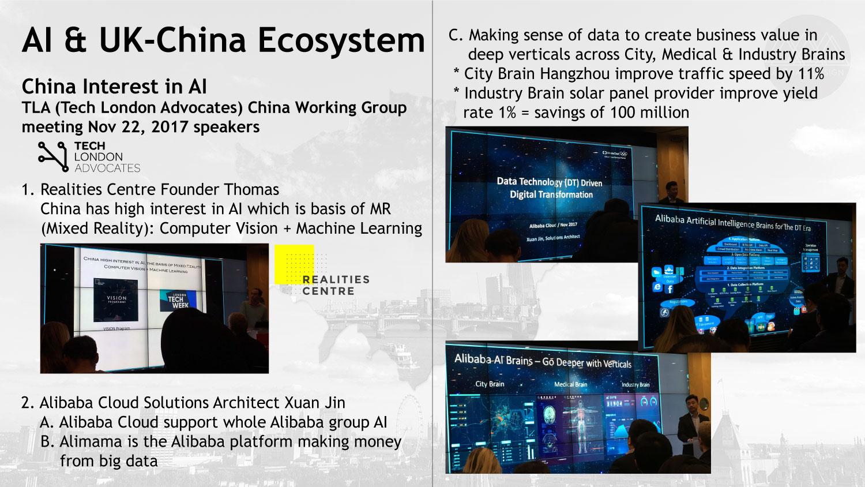 AI and UK-China Ecosystem: China Interest in AI