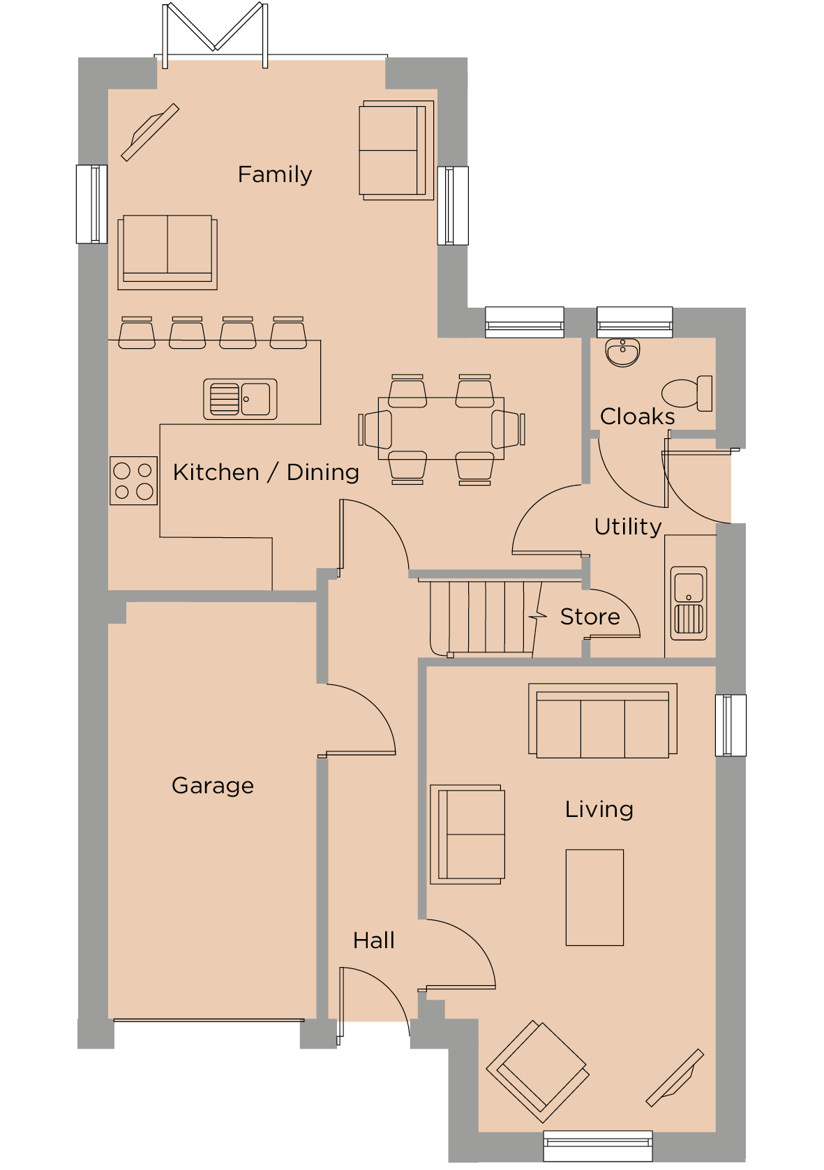 The Nightingale Ground Floor